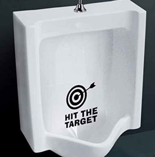 仕掛学 トイレの的